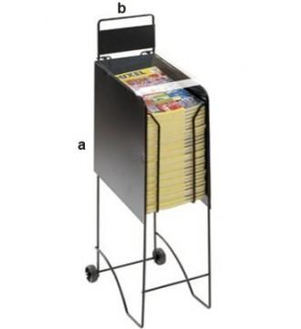 Katalogstander til A4 blade, kontorartikler, displays - www.boxel.dk