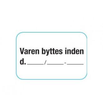 bytteklistermrke, rabatklistermærke, mærkning - www.boxel.dk