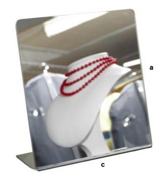 Bordspejl, displays - www.boxel.dk