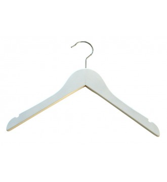 Juniorbøjle, 32 cm, blank hvid