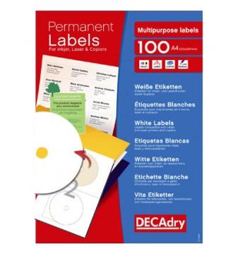 Etikette eller label til CD/DVD, kontorartikler - www.boxel.dk