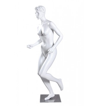 Damesportsmannequin, løber, mannequiner - www.boxel.dk