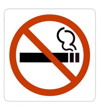 Pictogram Rygning forbudt, skilte - www.boxel.dk