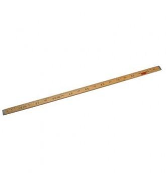Trælineal, 1 meter