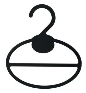 Tørklædering, SORT, bøjler - www.boxel.dk