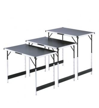 Salgsborde / klapborde. Sæt med 3 stk, gadeudstyr - www.boxel.dk