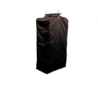 Kollektionspose. m/kuffertluk, 50x40xH:130cm. SORT, butiksudstyr - www.boxel.dk