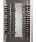 Brilledisplay til væg og 16 par briller, displays - www.boxel.dk