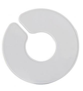 Hvid rund størrelsesopdeler, enabled, mærkning - www.boxel.dk