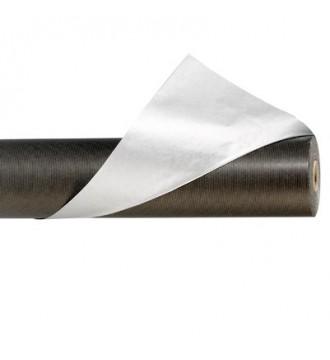 Gavepapir 2-farvet, sort & sølv - emballage