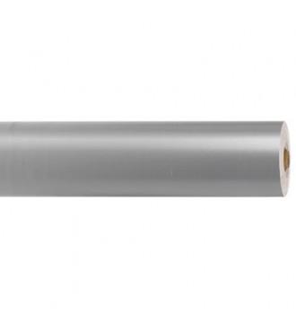 Blankt gavepapir, sølv - emballage
