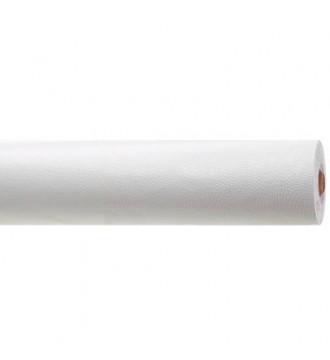 Hvidt gavepapir med slangeskindspræg - emballage