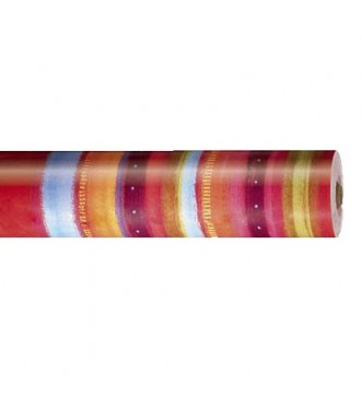 Gavepapir med mønster flerfarvet - emballage