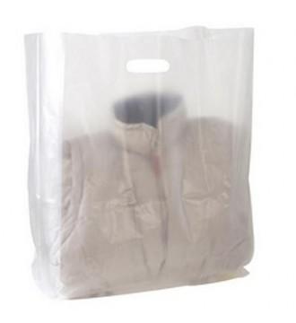 Frostet plastikpose 45x6/10x50 cm