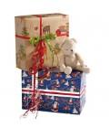 Julegavepapir med børnemotiver, gavepapir - emballage
