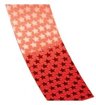 Gavebånd med stjerner - emballage