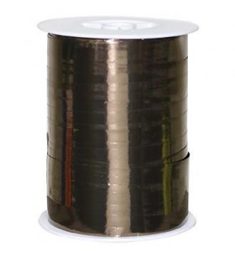 Metallic gavebånd, chokoladebrun - emballage