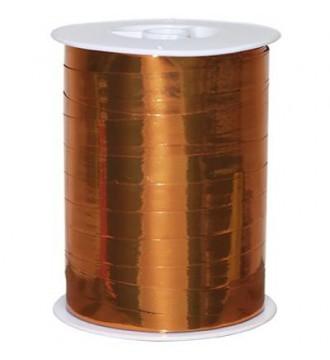 Metallic gavebånd, orange - emballage