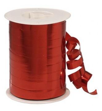 Metallic gavebånd, rød - emballage