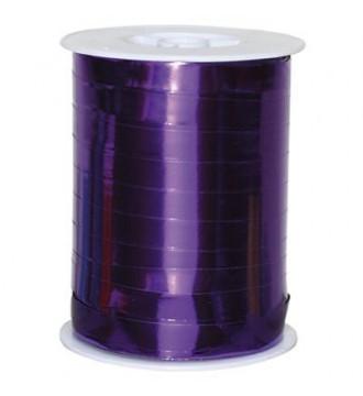 Metallic gavebånd, lilla - emballage
