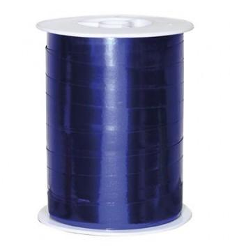 Metallic gavebånd, marineblå - emballage