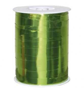 Metallic gavebånd, limegrøn - emballage