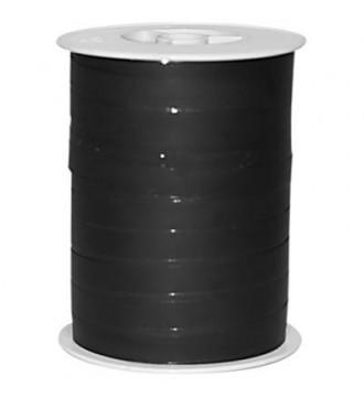 Matmetallic gavebånd, sort - emballage