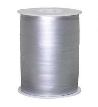 Matmetallic gavebånd, sølv - emballage
