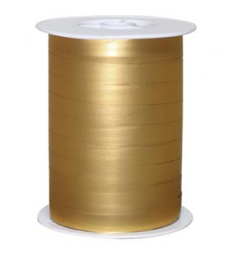 Matmetallic gavebånd, guld - emballage