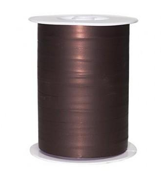 Matmetallic gavebånd, chokoladebrun - emballage