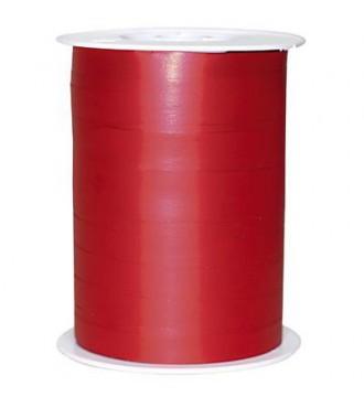 Matmetallic gavebånd, rød - emballage