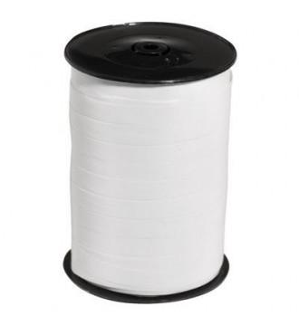 Hvidt gavebånd med lak - emballage