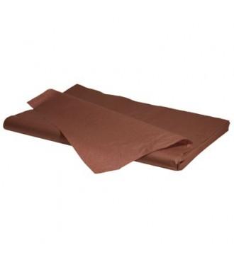 Silkepapir chokoladebrun - emballage