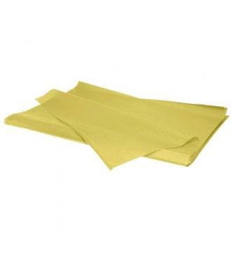 Silkepapir gul - emballage