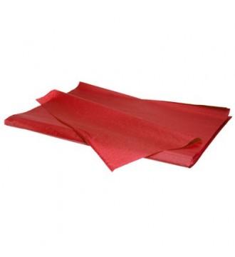 Silkepapir rød - emballage