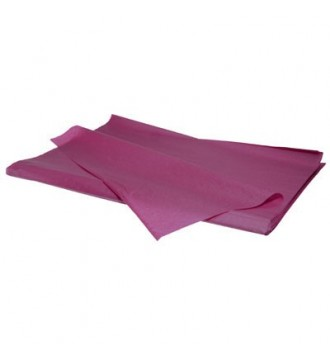 Silkepapir fuchsia - emballage