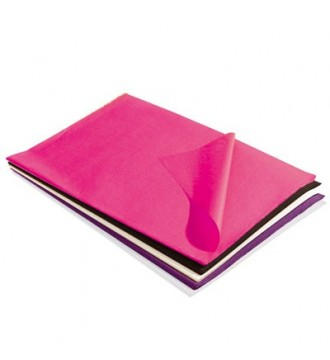 Silkepapir 5 ass. farver