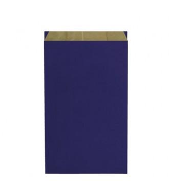 Blå gavepose 25x7x41 cm - emballage