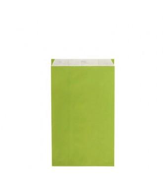 Limegrøn gavepose 16x8x27½ cm - emballage