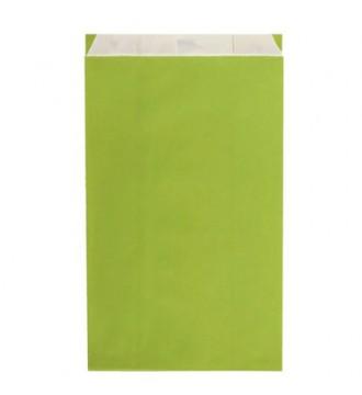 Limegrøn gavepose 30x9x49½ cm - emballage