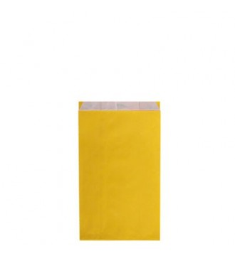 Gul gavepose 12x4½x21 cm - emballage