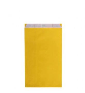 Gul gavepose 18x6x33½ cm - emballage