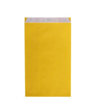 Gul gavepose 25x7x41 cm - emballage
