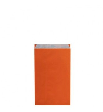 Orange gavepose 12x4½x21 cm - emballage