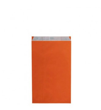 Orange gavepose 16x8x27½ cm - emballage