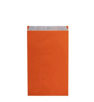 Orange gavepose 18x6x33½ cm - emballage