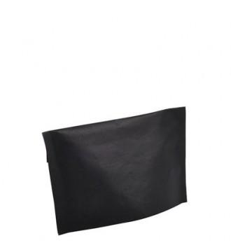 Sort gavepose med klæb 30x10x18 cm - emballage