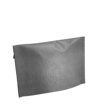 Grå gavepose med klæb, 45x12x33 cm - emballage