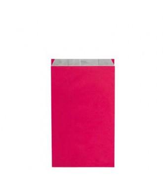 Fuchsiafarvet gavepose 16x8x27½ cm - emballage