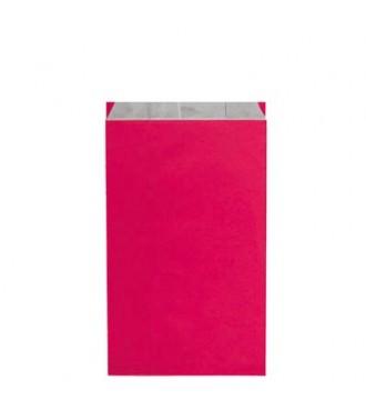 Fuchsiafarvet gavepose 18x6x33½ cm - emballage